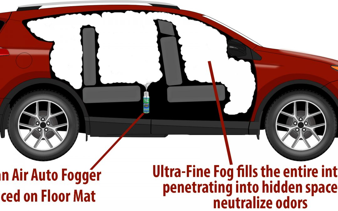 How to Use Clean Air Auto Interior Fogger